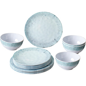 Brunner Midday - blanc/turquoise